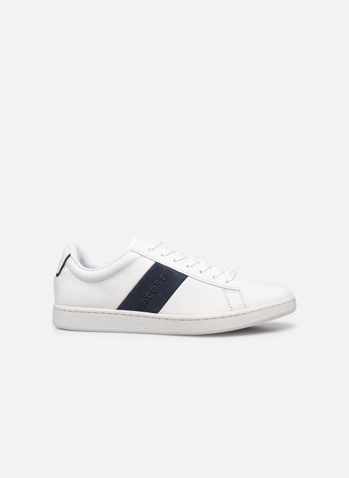 Sneaker Lacoste Carnaby Evo 0120 3 weiß ansicht von hinten