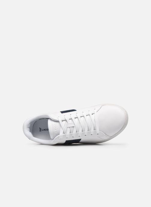 Sneaker Lacoste Carnaby Evo 0120 3 weiß ansicht von links