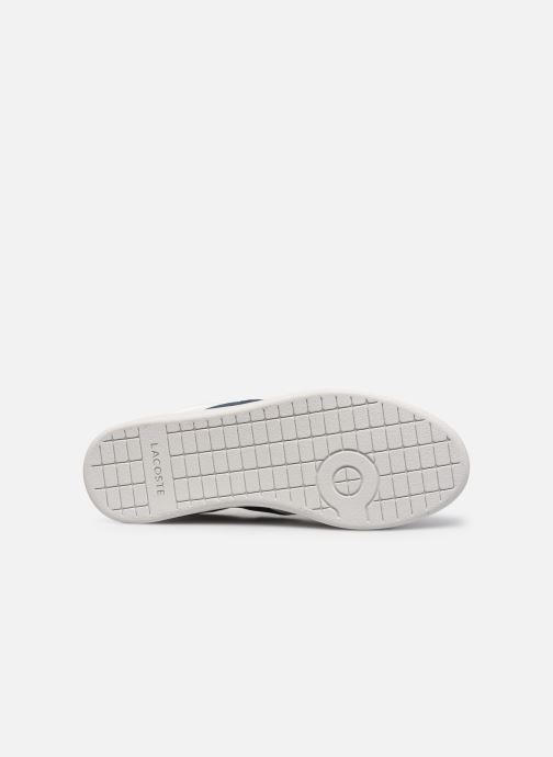 Baskets Lacoste Carnaby Evo 0120 3 Blanc vue haut