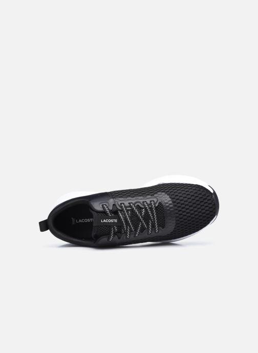 Baskets Lacoste Court-Drive 0120 1 Noir vue gauche