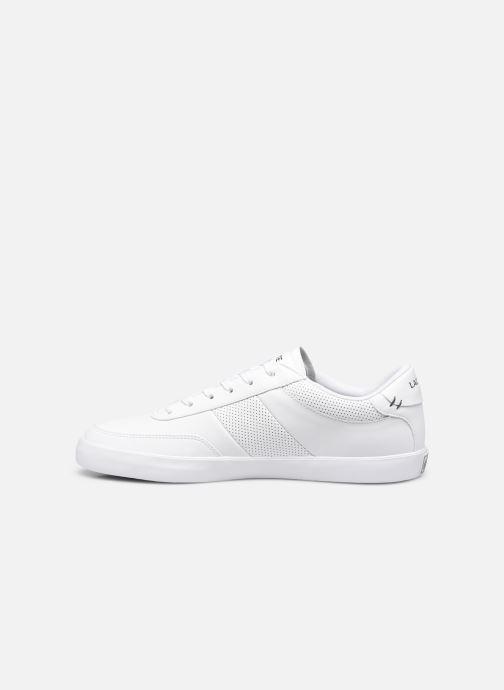 Sneaker Lacoste Court-Master 0120 1 Cma weiß ansicht von vorne