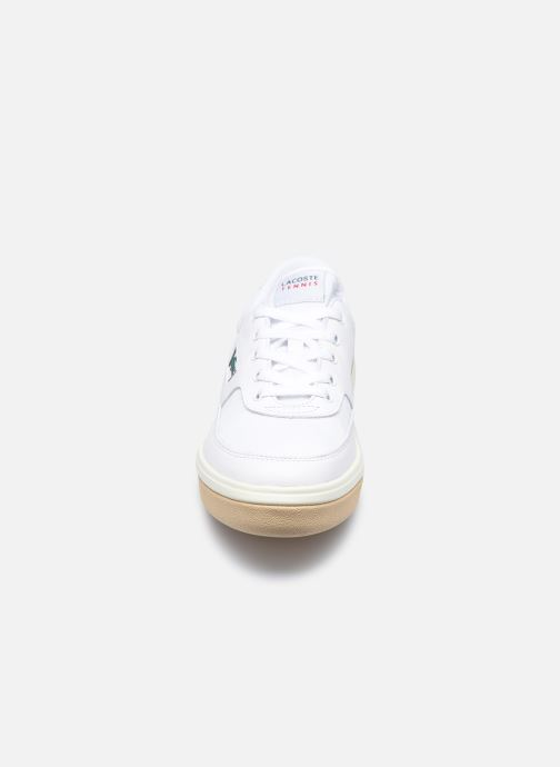 Baskets Lacoste G80 0120 1 Blanc vue portées chaussures