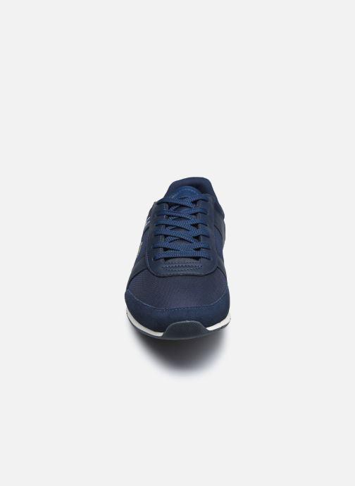 Sneakers Lacoste Menerva Sport 0120 1 Azzurro modello indossato