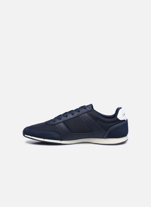 Sneaker Lacoste Menerva Sport 0120 1 blau ansicht von vorne