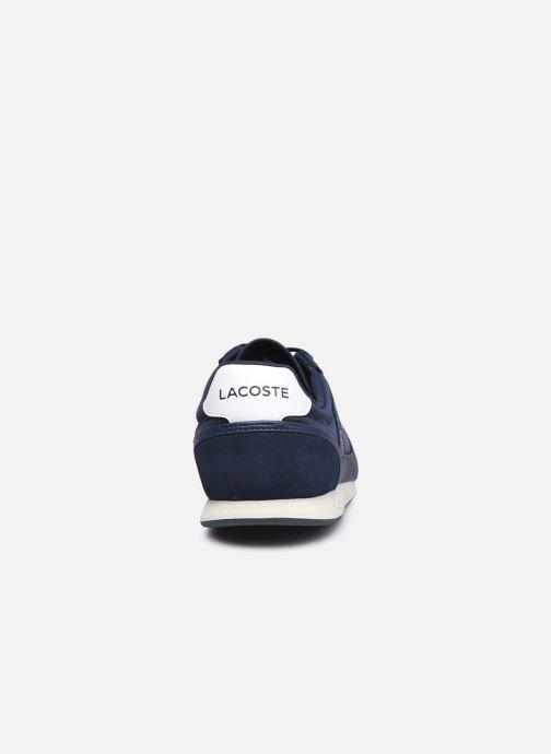 Sneaker Lacoste Menerva Sport 0120 1 blau ansicht von rechts