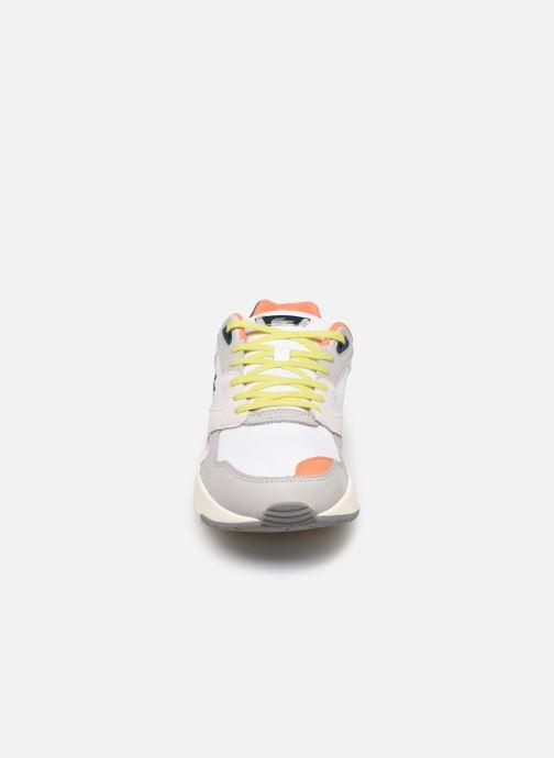 Baskets Lacoste Storm 96 Lo 0120 2 Gris vue portées chaussures