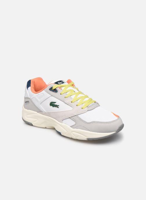 Baskets Lacoste Storm 96 Lo 0120 2 Gris vue détail/paire