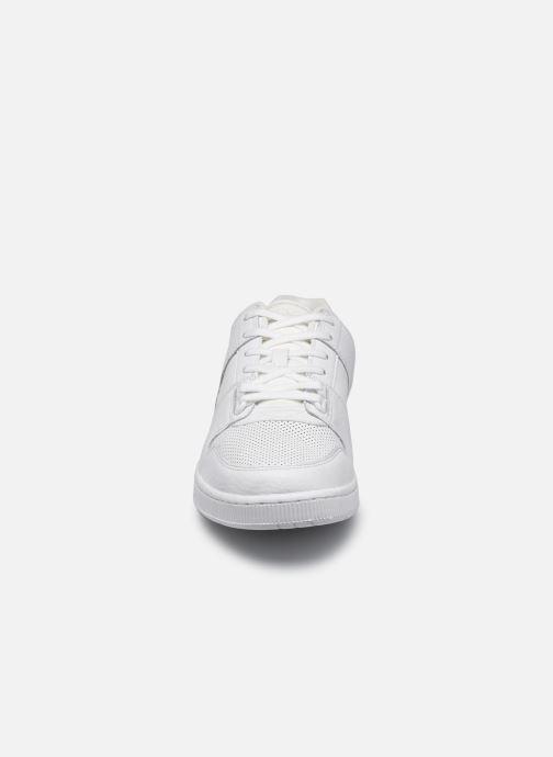 Sneaker Lacoste Thrill 0120 1 weiß schuhe getragen