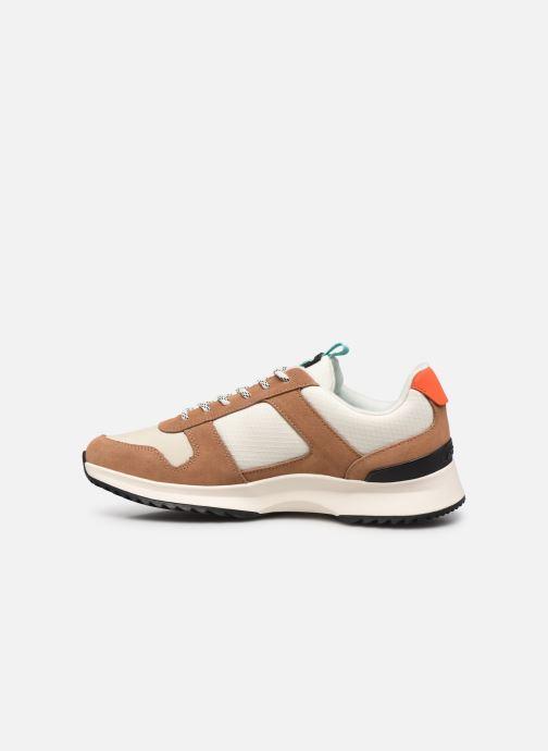 Sneaker Lacoste Joggeur 2.0 0320 1 braun ansicht von vorne
