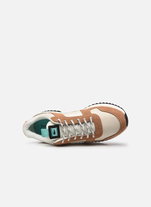 Sneaker Lacoste Joggeur 2.0 0320 1 braun ansicht von links
