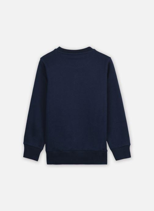 Vêtements Champion Crewneck Sweatshirt 305379 Bleu vue portées chaussures