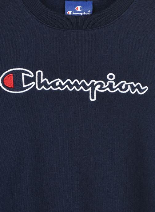 Vêtements Champion Crewneck Sweatshirt 305379 Bleu vue face