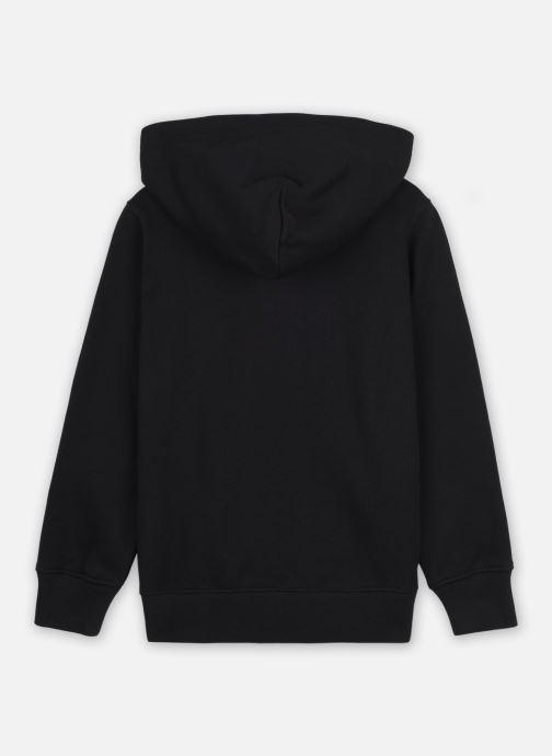 Vêtements Champion Hooded Full Zip Sweatshirt 305377 Noir vue portées chaussures