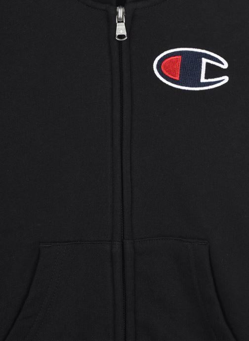 Vêtements Champion Hooded Full Zip Sweatshirt 305377 Noir vue face