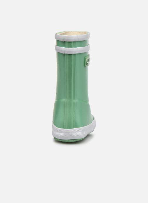 Stiefel Aigle Baby Flac Irrise grün ansicht von rechts