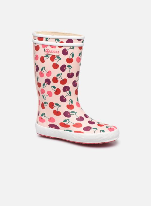Stiefel Aigle Lolly Pop Theme rosa detaillierte ansicht/modell
