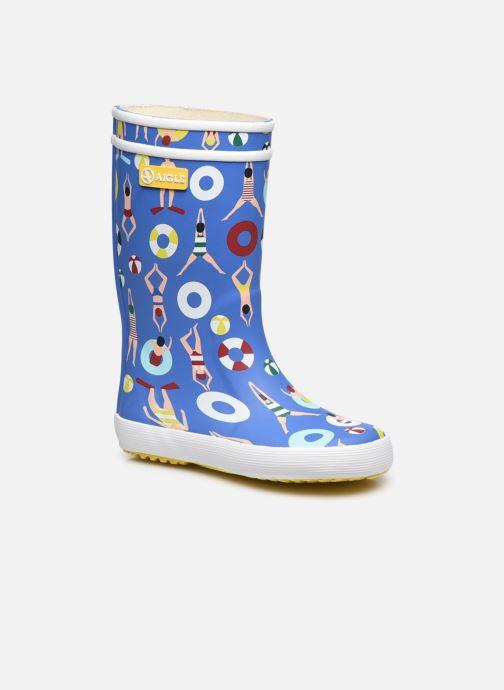 Stiefel Aigle Lolly Pop Theme blau detaillierte ansicht/modell