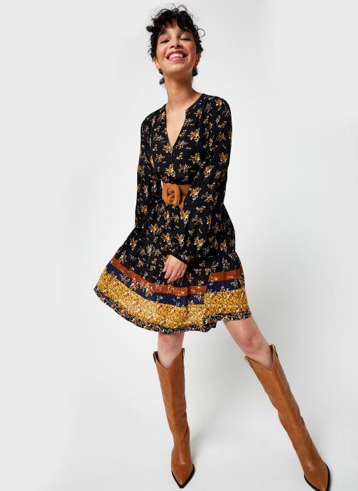 Vêtements Stella Forest Robe Courte Clementine Noir vue bas / vue portée sac
