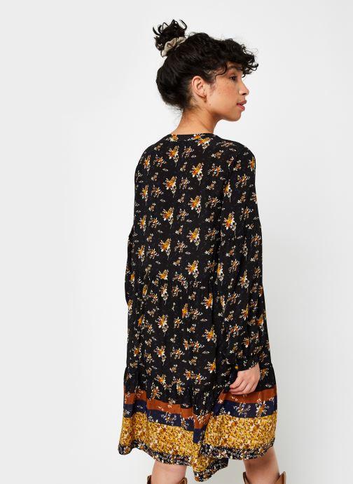 Vêtements Stella Forest Robe Courte Clementine Noir vue portées chaussures