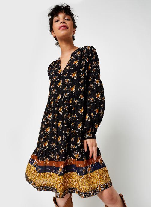 Vêtements Stella Forest Robe Courte Clementine Noir vue droite