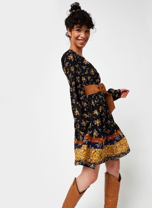 Vêtements Stella Forest Robe Courte Clementine Noir vue détail/paire