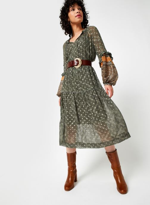 Vêtements Stella Forest Robe Midi Ines Vert vue bas / vue portée sac