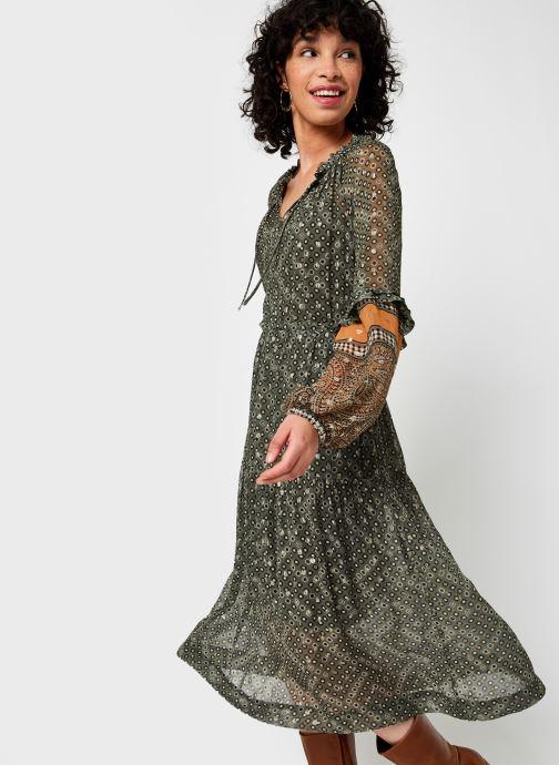 Vêtements Stella Forest Robe Midi Ines Vert vue droite