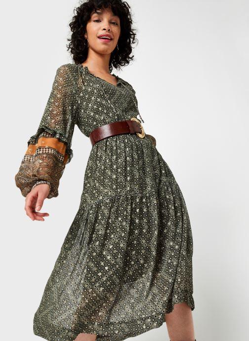 Vêtements Stella Forest Robe Midi Ines Vert vue détail/paire