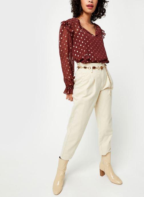 Vêtements Stella Forest Tunique Smockee Louanne Rouge vue bas / vue portée sac