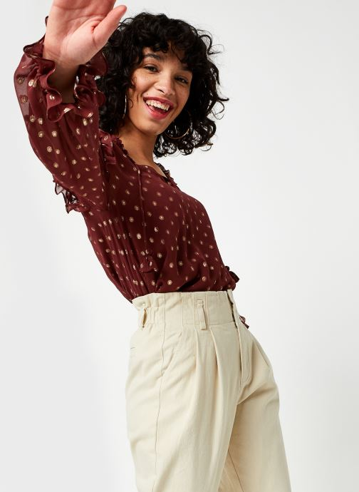 Vêtements Stella Forest Tunique Smockee Louanne Rouge vue détail/paire