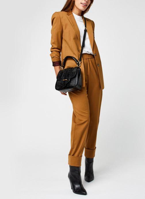 Vêtements Stella Forest Veste Tailleur Harper Marron vue bas / vue portée sac