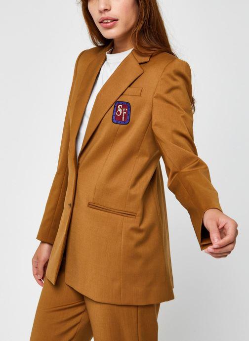 Vêtements Stella Forest Veste Tailleur Harper Marron vue droite