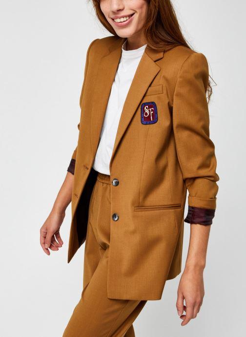 Vêtements Stella Forest Veste Tailleur Harper Marron vue détail/paire