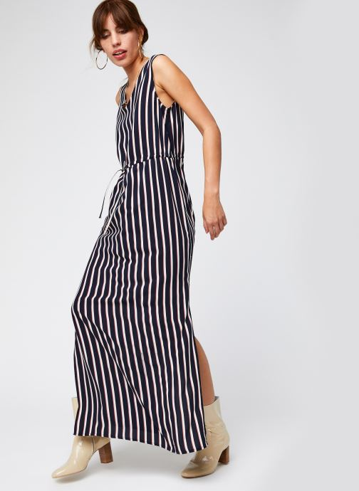 Vêtements Vero Moda Vmsimply Easy Sl Tank Maxi Dress Bleu vue bas / vue portée sac