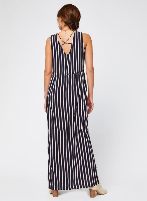 Vêtements Vero Moda Vmsimply Easy Sl Tank Maxi Dress Bleu vue portées chaussures