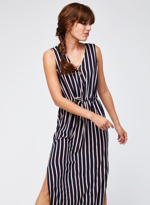Vêtements Vero Moda Vmsimply Easy Sl Tank Maxi Dress Bleu vue droite