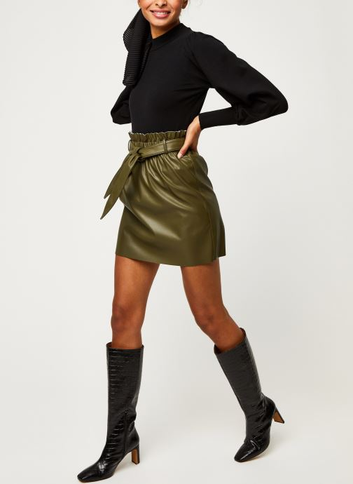 Vêtements Vero Moda Vmawardbelt Short Coated Skirt Boos Vert vue bas / vue portée sac