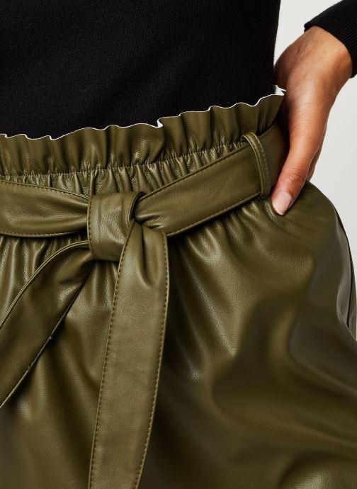 Vêtements Vero Moda Vmawardbelt Short Coated Skirt Boos Vert vue face