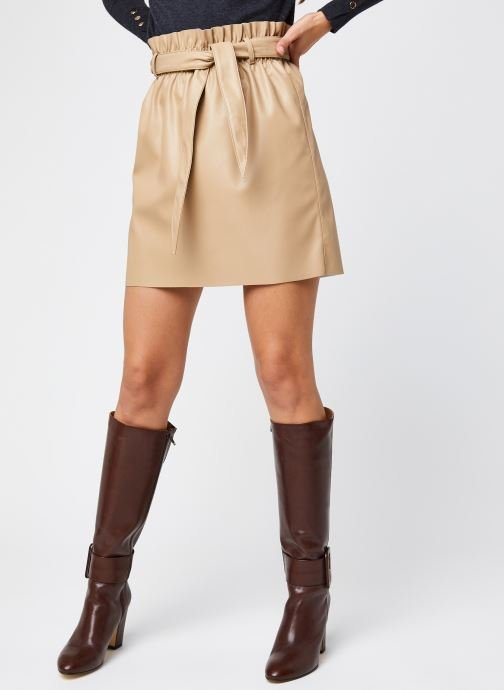 Jupe mini - Vmawardbelt Short Coated Skirt Boos