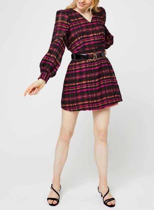 Vêtements Vero Moda Vmdanielle L/S V-Neck Dress Multicolore vue bas / vue portée sac