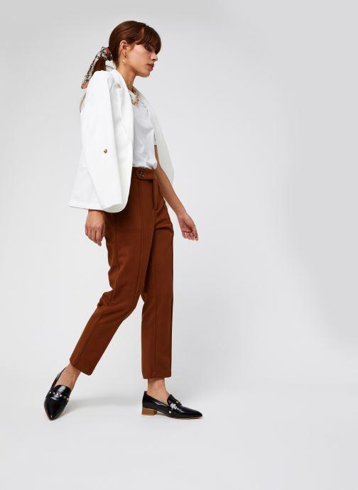 Vêtements Vero Moda Vmhelenmilo 3/4 Loose Blazer Blanc vue bas / vue portée sac