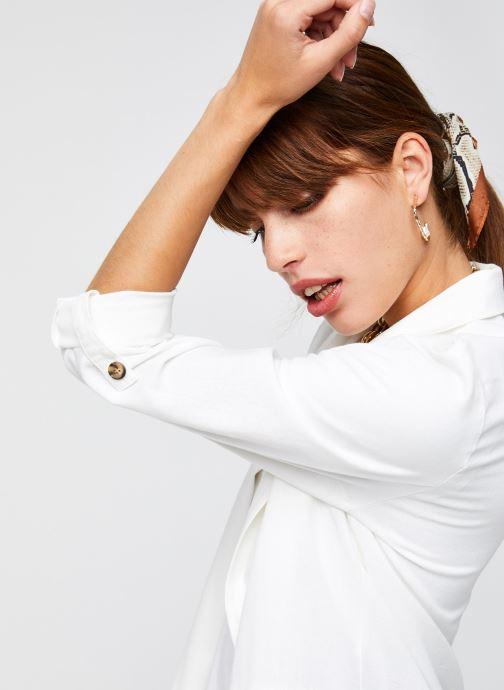 Vêtements Vero Moda Vmhelenmilo 3/4 Loose Blazer Blanc vue face