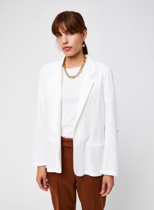 Vêtements Vero Moda Vmhelenmilo 3/4 Loose Blazer Blanc vue droite
