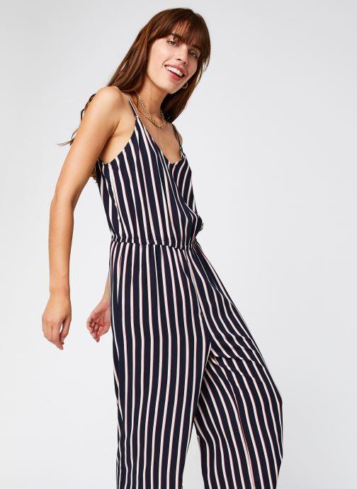 Vêtements Vero Moda Vmsimply Easy Culotte Jumpsuit Bleu vue détail/paire
