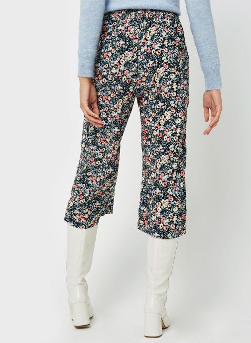 Vêtements Vero Moda Vmsimply Easy Hw Culotte Pant Multicolore vue portées chaussures