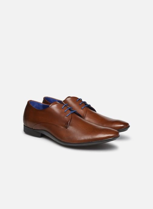 Chaussures à lacets Azzaro OUTINO2 Marron vue 3/4