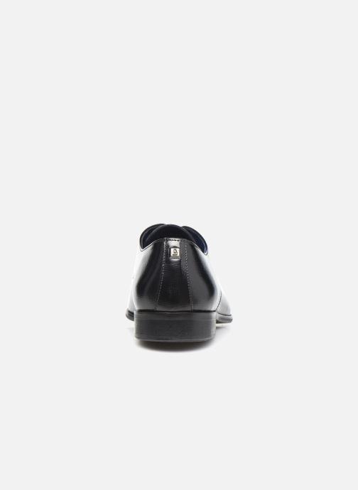 Zapatos con cordones Azzaro JORPI Negro vista lateral derecha
