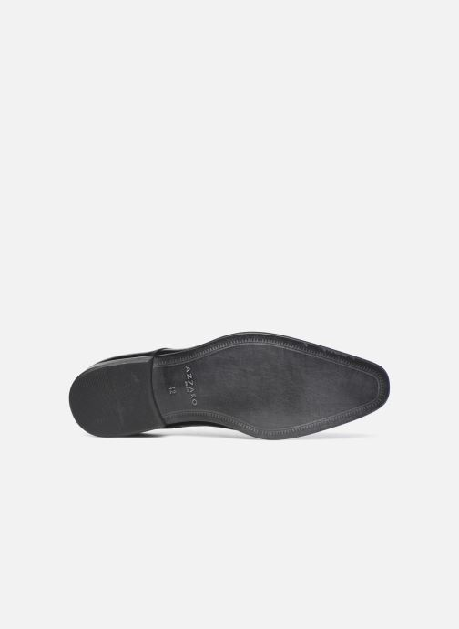 Zapatos con cordones Azzaro JORPI Negro vista de arriba