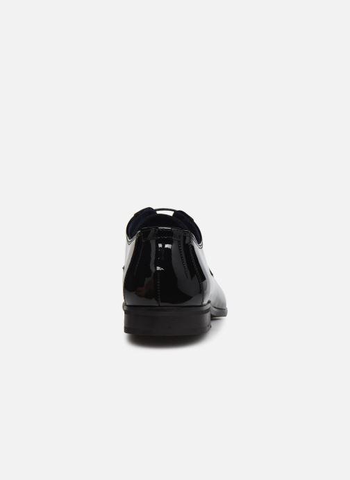 Zapatos con cordones Azzaro VICHOL Negro vista lateral derecha