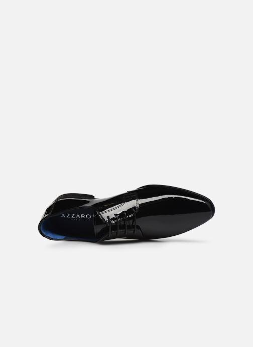 Scarpe con lacci Azzaro VICHOL Nero immagine sinistra